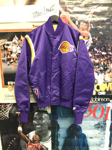 Starter Los Angeles Lakers Satin Jacket - Decades of dope