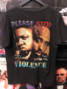 Tupac and biggie memorial rap tee - Decades of dope