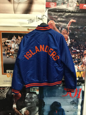 Pyramid New York Islanders Satin Jacket Large - Decades of dope