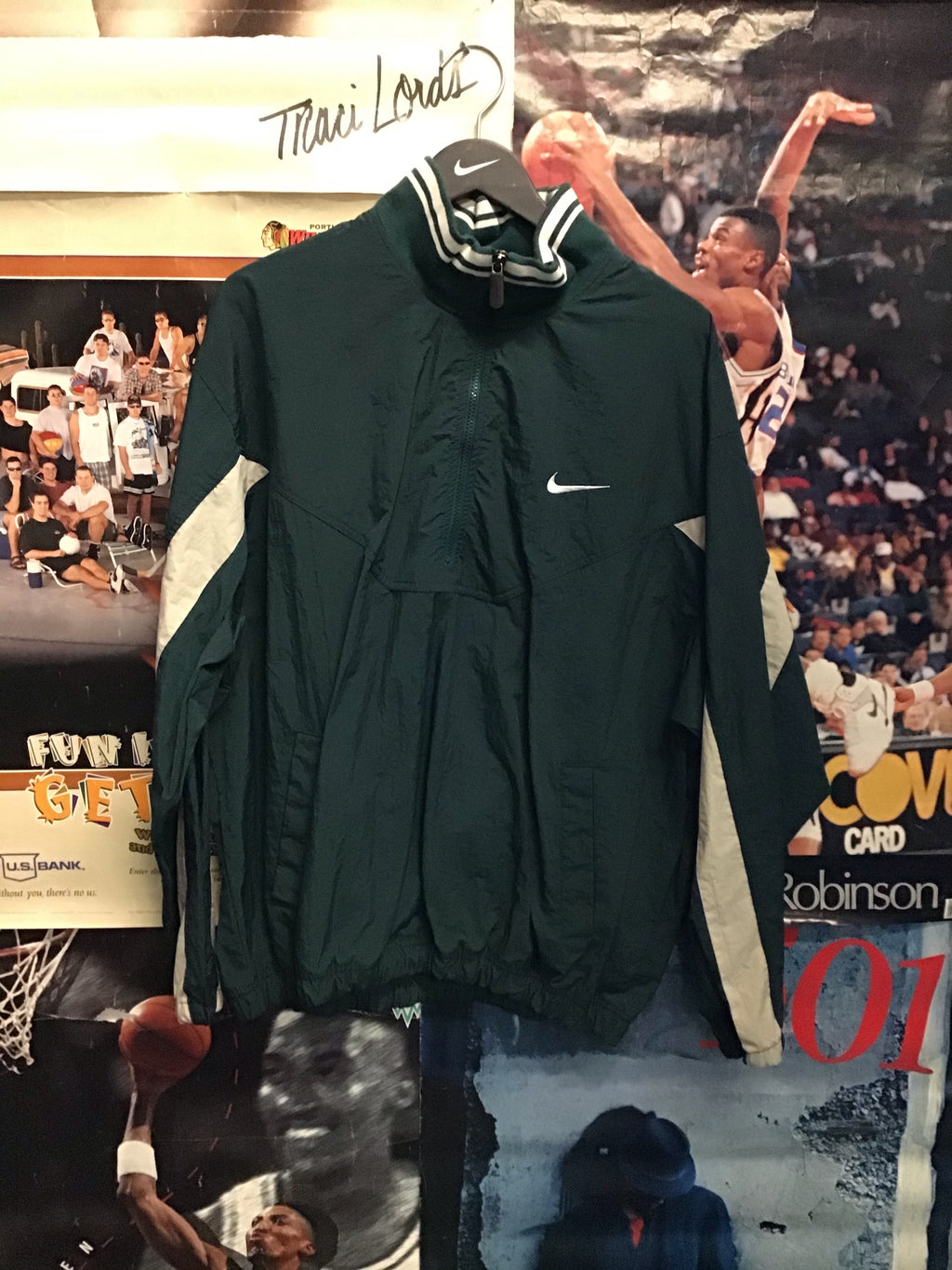 Nike Quarter Zip Windbreaker XL - Decades of dope