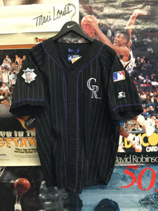 Starter Colorado Rockies Jersey Large - Decades of dope