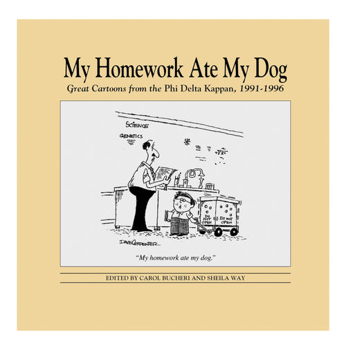 Cartoon Book - My Homework Ate My Dog