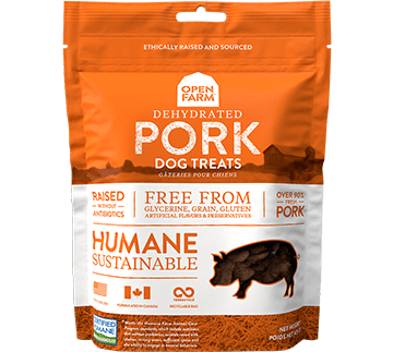 Dehydrated Pork Treats