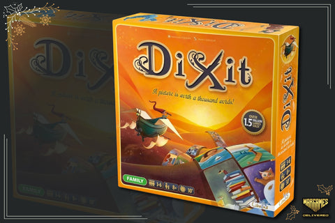 BOARD GAME FOR FAMILIES GIFT IDEA: DIXIT