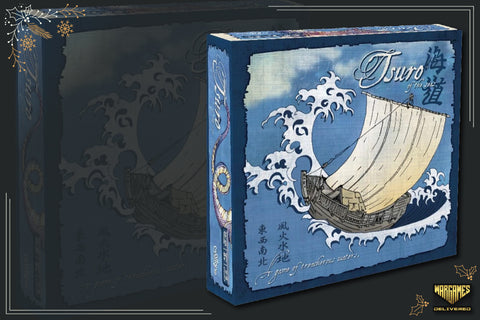 BOARD GAME FOR FAMILIES GIFT IDEA: TSURO OF THE SEAS