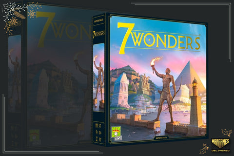 BOARD GAME FOR FAMILIES GIFT IDEA: 7 WONDERS