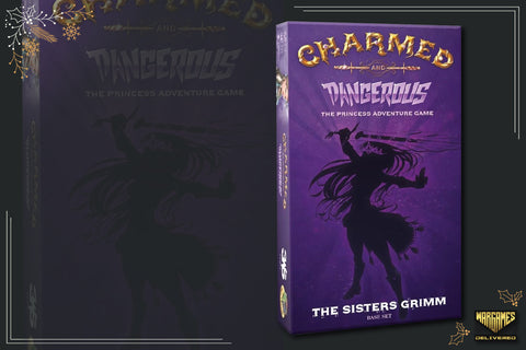 BOARD GAME FOR FAMILIES GIFT IDEA: CHARMED AND DANGEROUS