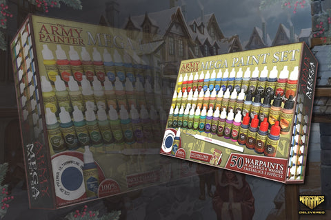 THE ARMY PAINTER MEGA PAINT SET FOR MINIATURE PAINTING