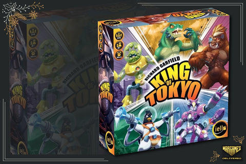 BOARD GAME FOR FAMILIES GIFT IDEA: KING OF TOKYO 2E