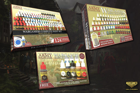 PAINT SETS FOR MINIATURE PAINTING- THE ARMY PAINTER