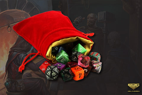 DUNGEONS AND DRAGONS: DICE BAG