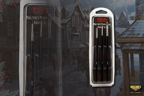 PAINTBRUSHES FOR MINIATURE PAINTING