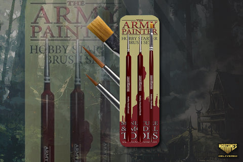 THE ARMY PAINTER BRUSH FOR MINIATURE PAINTING