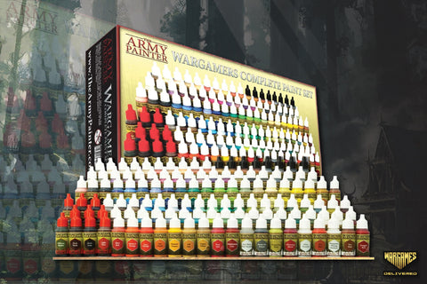 The Army Painter Wargamers Complete Paint Set