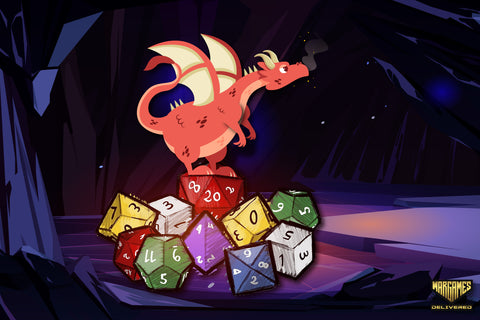 DUNGEONS AND DRAGONS: DICE