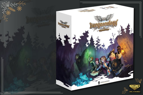 BOARD GAME FOR FAMILIES GIFT IDEA: DUNGEONOLOGY, THE EXPEDITION