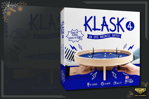BOARD GAME FOR FAMILIES GIFT IDEA: KLASK 4