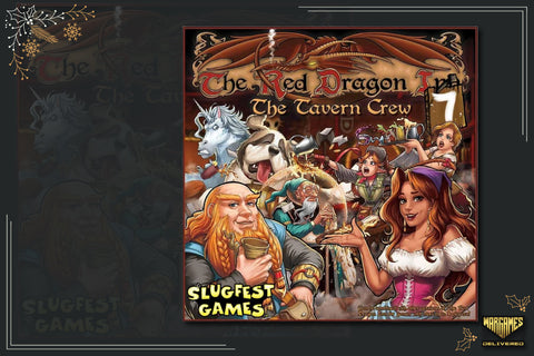 BOARD GAME FOR FAMILIES GIFT IDEA: THE RED DRAGON INN
