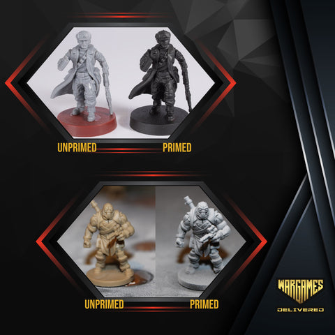 PRIMER FOR MINIATURE PAINTING