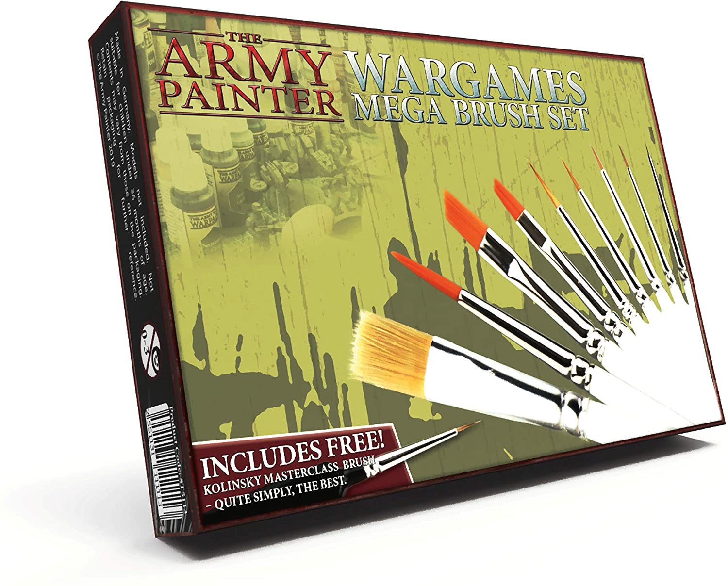 The Army Painter Wargames Mega Brush Set