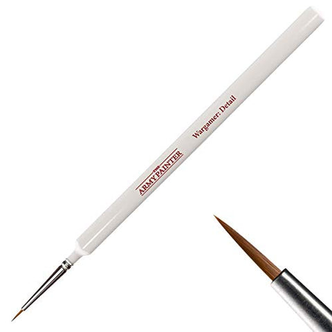 The Army Painter Wargamer Detail Brush - Miniature Paint Brush for Acrylic Model Painting