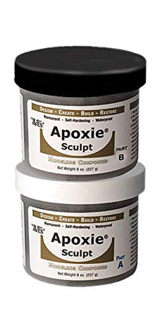 Epoxy Putty Sculpting, Part A & B Self Hardening Apoxie Sculpt Modeling Clay