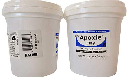 Apoxie Clay 3 Lb. Native