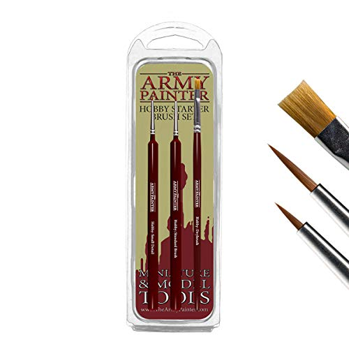 The Army Painter Hobby Starter Brush Set (3)