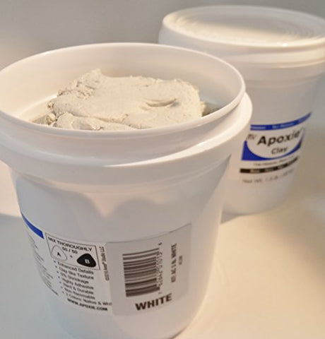 Apoxie Clay 3 Lb. White Epoxy Clay