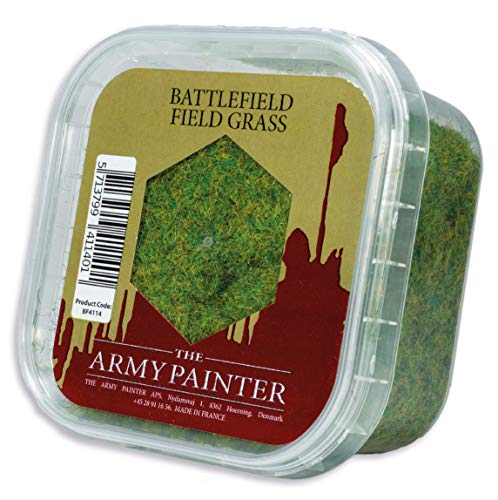 The Army Painter Battlefield Field Grass for Miniature Bases & Wargame Terrains: Static Grass 150 ml