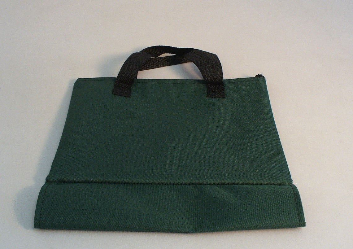 Green Canvas Chess Tote