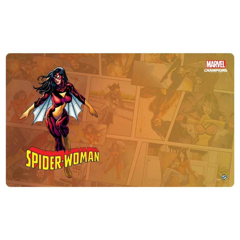 MC LCG: Spider-Woman Game Mat