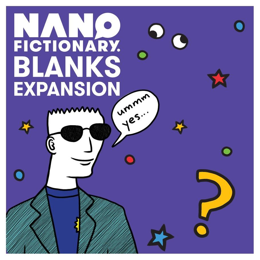Nanofictionary Blanks