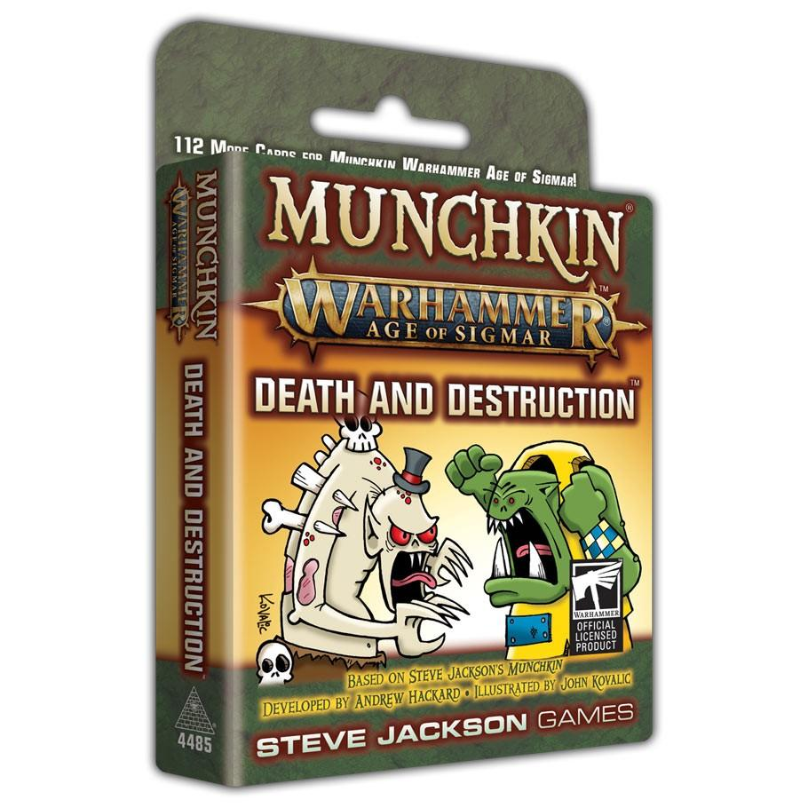 Munchkin: WH: AoS: Death & Destruction