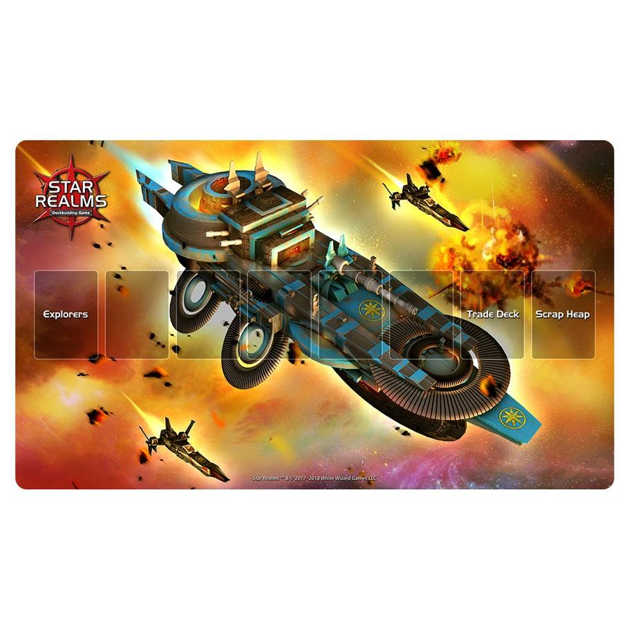 Star Realms: Light Cruiser Play Mat