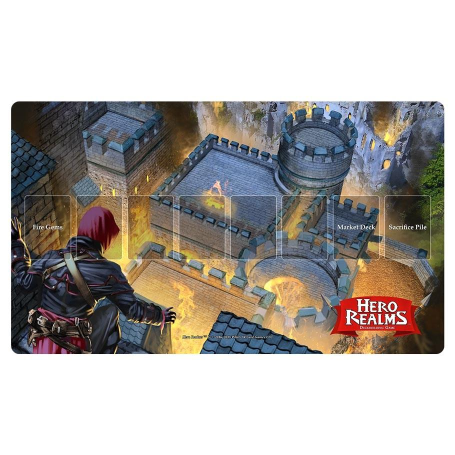 Hero Realms: Fire Bomb Play Mat