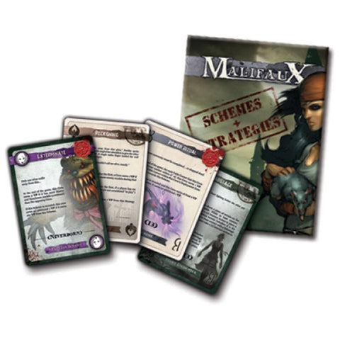 Malifaux 2E: Schemes and Strategies deck