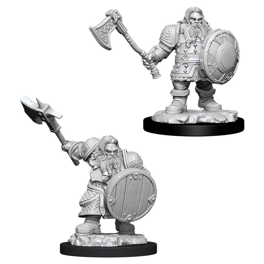 D&D: NMU: Male Dwarf Fighter W11