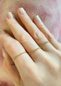 Rope Wire Stackable Rings