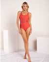 DB SUSTAINABLE 'Brighton' One Piece Swimsuit - Red