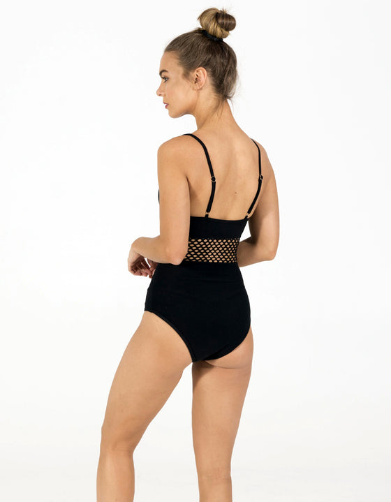 DB SUSTAINABLE 'Brighton' One Piece Swimsuit - Black