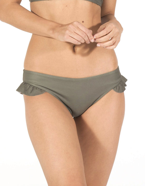 DB SUSTAINABLE 'Byron' Low Rise Hipster Brief - Khaki
