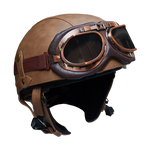 Leather Helmet | Rayvolt Premium E Bikes