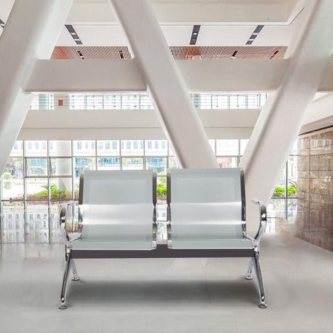 Kinbor Airport Waiting Chairs Salon Office Waiting Room Chairs Furniture Bench Waiting Area Reception Chairs with Arms