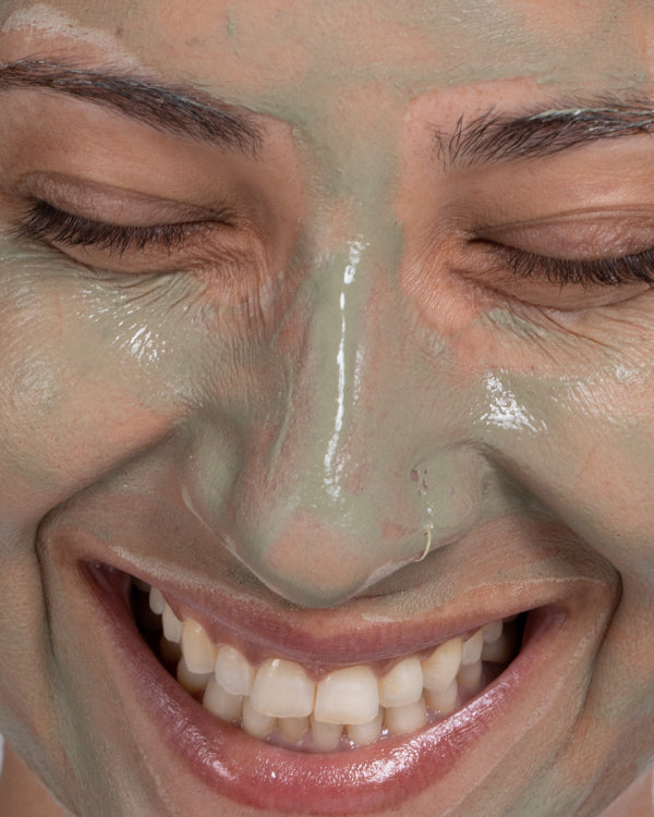 Green clay mask | Green clay + Green tea
