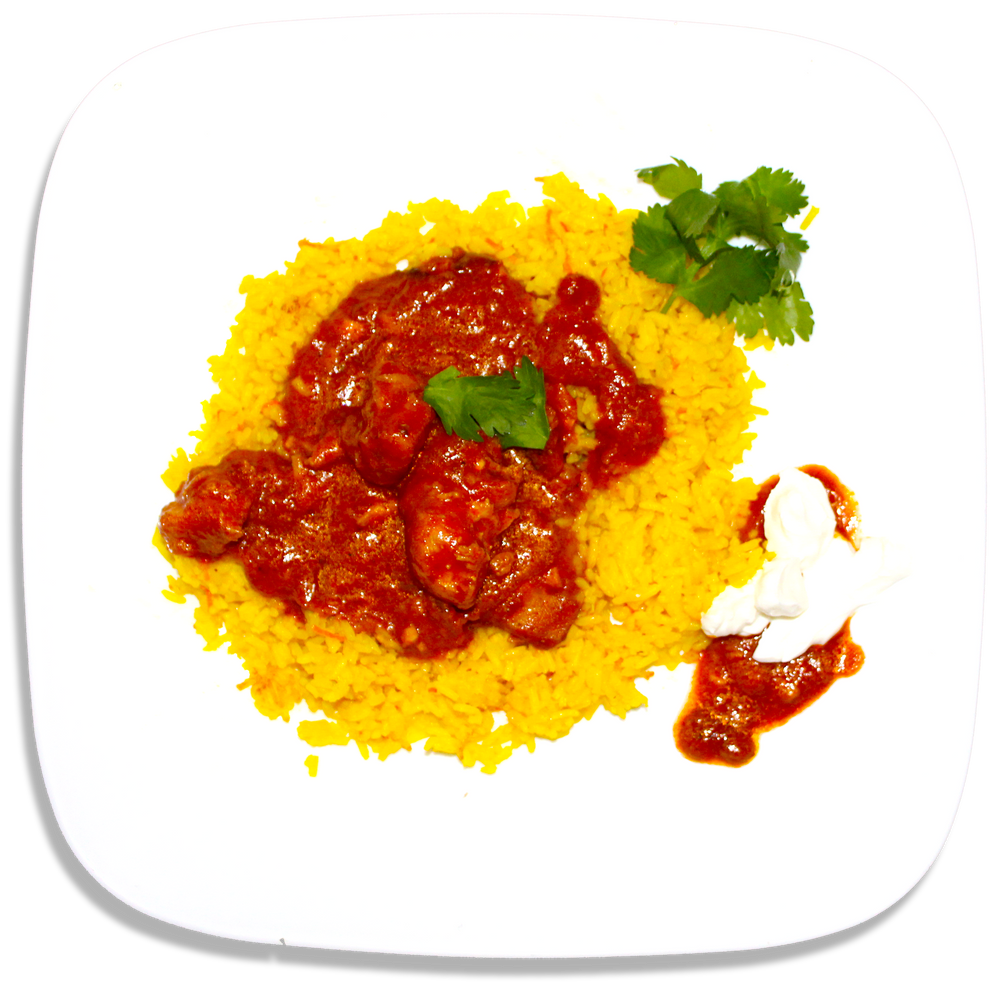 MB Butter Chicken with Lemon Rice