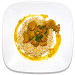 Coconut Basil Curried Chicken