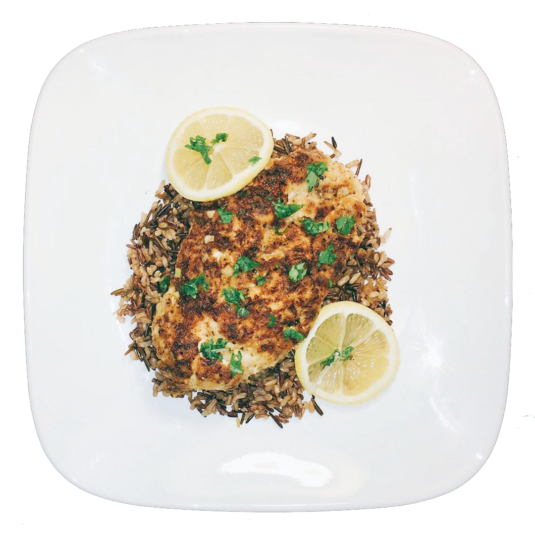 Lemon Pepper Chicken and Wild Rice Mix