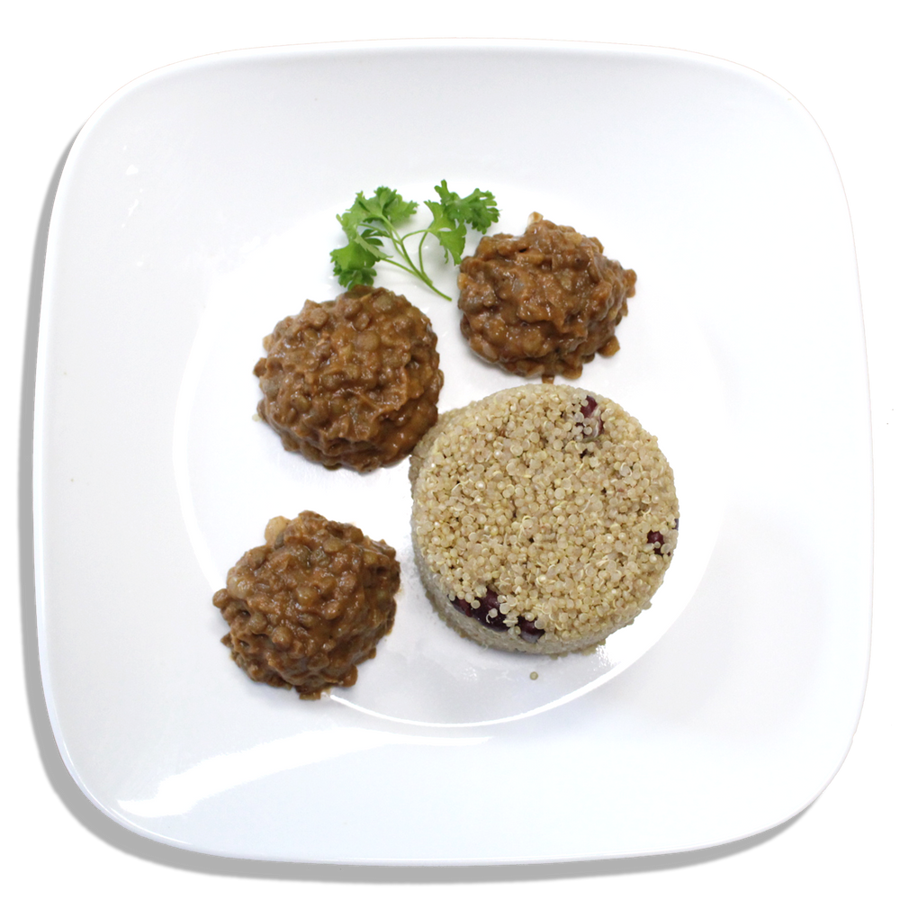 Spicy Stewed Lentils and Quinoa [VG]