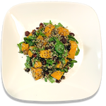 Sweet Potato Quinoa Cranberry Salad